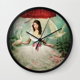 Earl Grey Slash Wall Clock