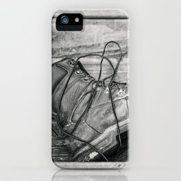 Work Boots 5 iPhone Case
