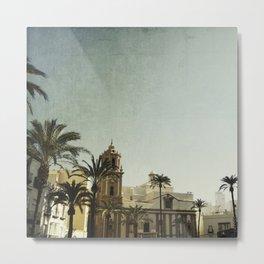 Where The Guadalquivir meets the sea Metal Print