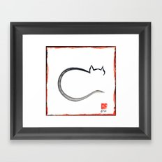 Cat 2015 Framed Art Print