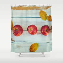 Apples (Color) Shower Curtain