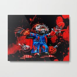 Freddy Of All Faces Metal Print