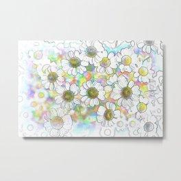 Spectrum of Flowers Metal Print