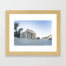 Skewed Politics Framed Art Print