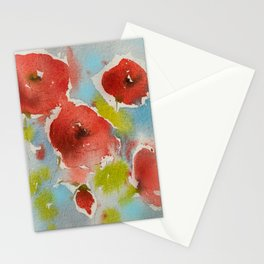 Roses (watercolor) Stationery Cards