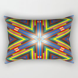 Color My World Byte By Byte Rectangular Pillow
