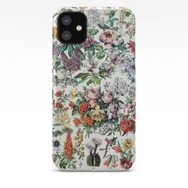 Adolphe Millot - Fleurs C - French vintage poster iPhone Case