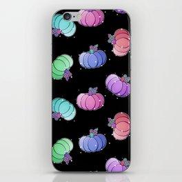 Pastel Pumkins iPhone Skin