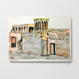 UAE Heritage Metal Print