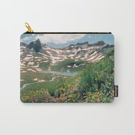 Summer Lake Wildflowers Carry-All Pouch
