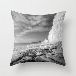 Birling Gap Seven Sisters Throw Pillow