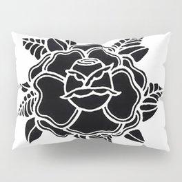 black rose/grow yourself Pillow Sham