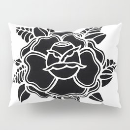black rose/grow yourself Pillow Sham