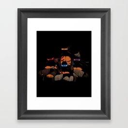 T. U. R. T. L. E. S. Framed Art Print