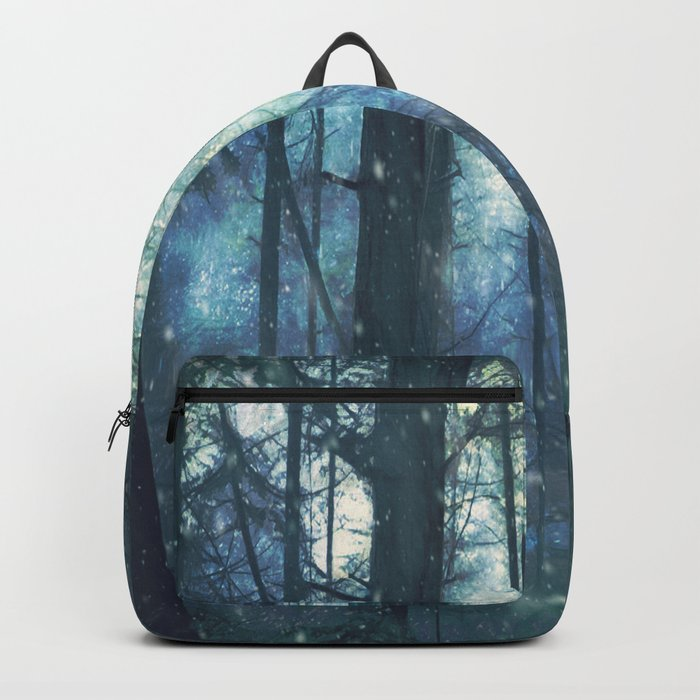 The Woods In Winter Backpack
