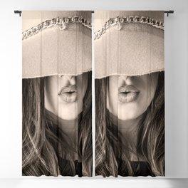 Beautiful Woman Blackout Curtain