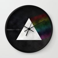 floyd Wall Clocks featuring Pink Floyd by TheYUCK