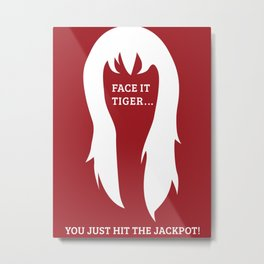 Spiderman - Mary Jane 'Jackpot' Metal Print