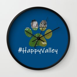 #HappyValley Wall Clock