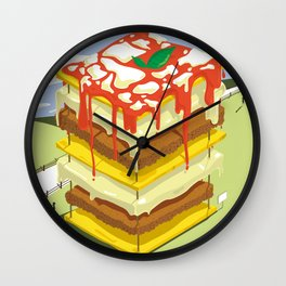 Lasagna is the BEST Wall Clock