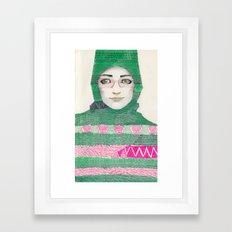 Abaya 03 Framed Art Print