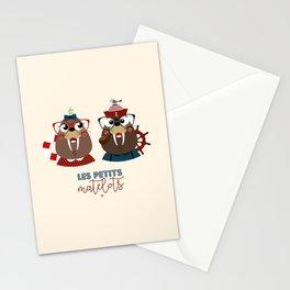 Les petits matelots Stationery Cards