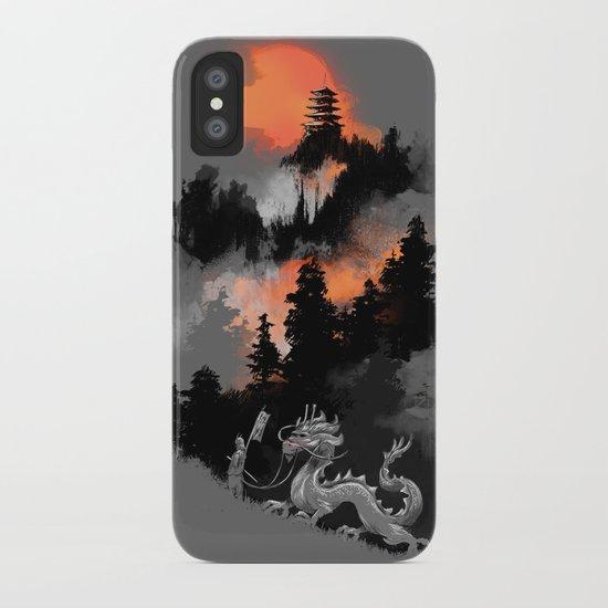 A samurai's life iPhone Case