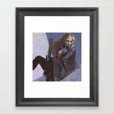 Sniper Wolf Framed Art Print