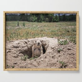 Prairie Dog Serving Tray