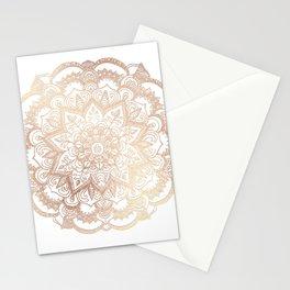 Mandala Gold Shine II Stationery Cards