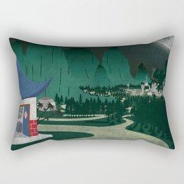 Four of Seven Rectangular Pillow
