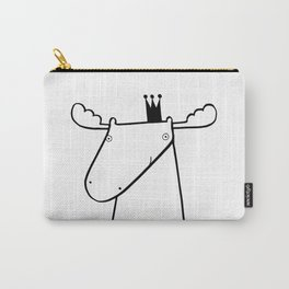 Scandinavian moose Carry-All Pouch