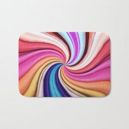 331 - Abstract Paper design Bath Mat