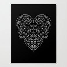 Heart Inside Canvas Print