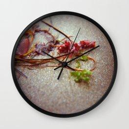 Sea Ranch seaweed 2 Wall Clock