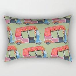 Rickshaw Fever Rectangular Pillow