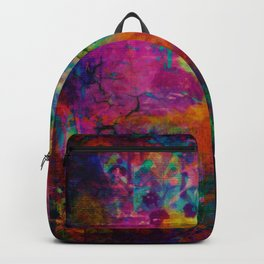 colorful canvas i Backpack