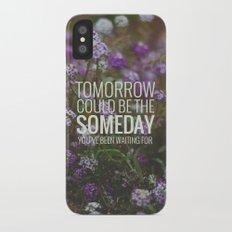 someday. iPhone X Slim Case