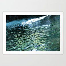 like a rivulet 02 Art Print