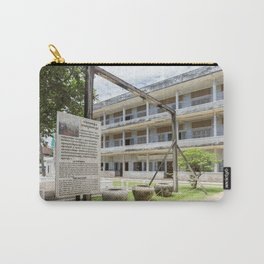 S21 The Gallows - Khmer Rouge, Cambodia Carry-All Pouch