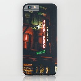 East Village iPhone Case