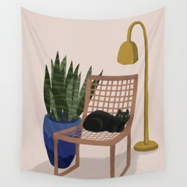 Not Your Chair Wall Tapestry