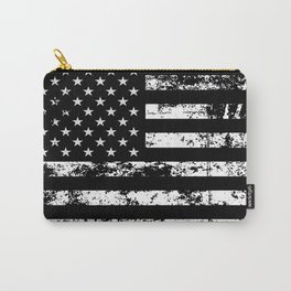 United States of America Black Flag Carry-All Pouch