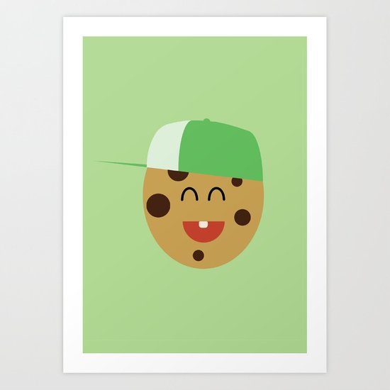 COOKIE SMILE Art Print