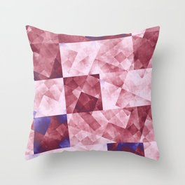 Raw Grid in DPA 01 Throw Pillow