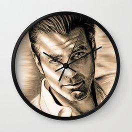 George Clooney II Wall Clock