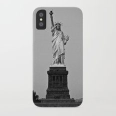 Lady Liberty iPhone X Slim Case