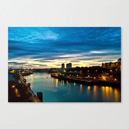 sunderland sunrise Canvas Print