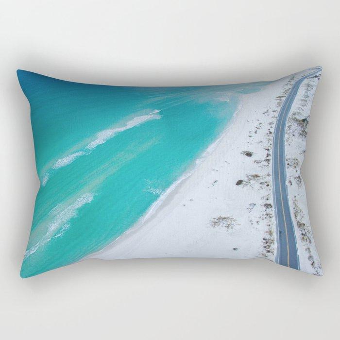 Ocean road paradise Rectangular Pillow