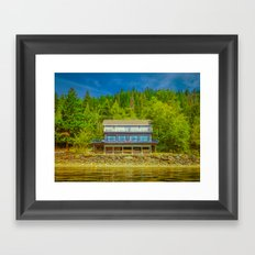Squilax Cabin Framed Art Print